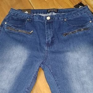 American Bazi jeans skinny ruched size size 1X